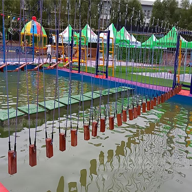 水上吊樁橋(qiao)